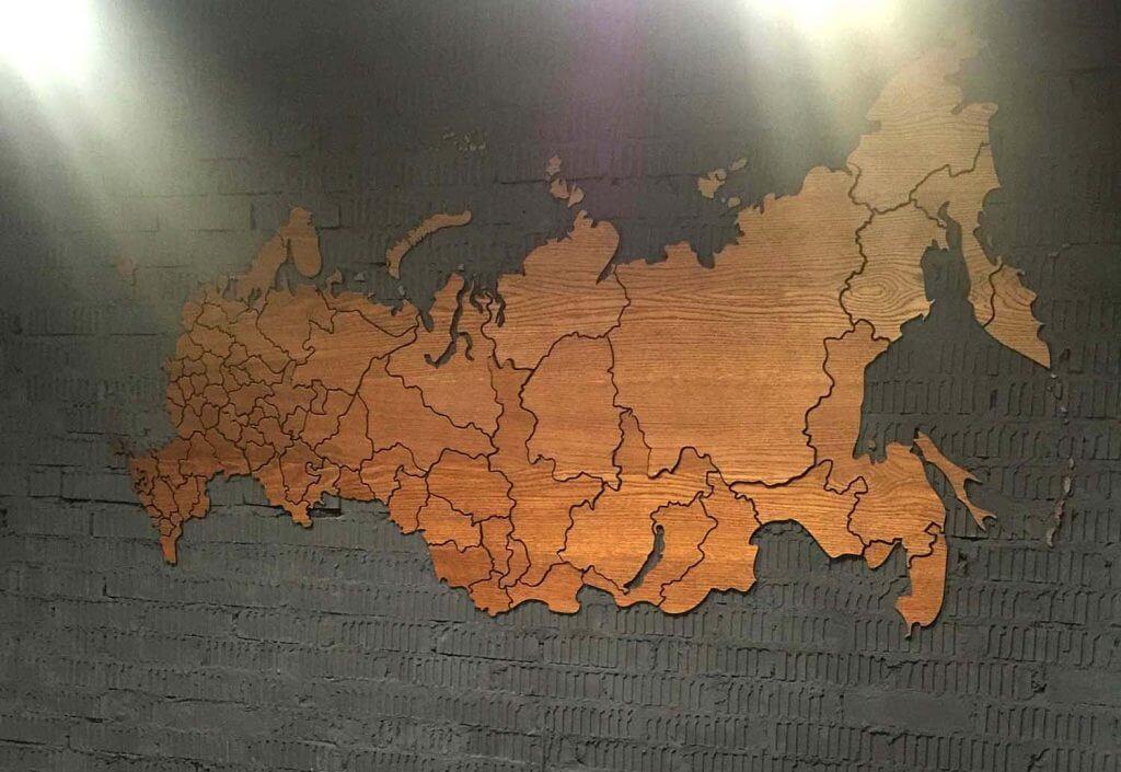 Карта на кирпич