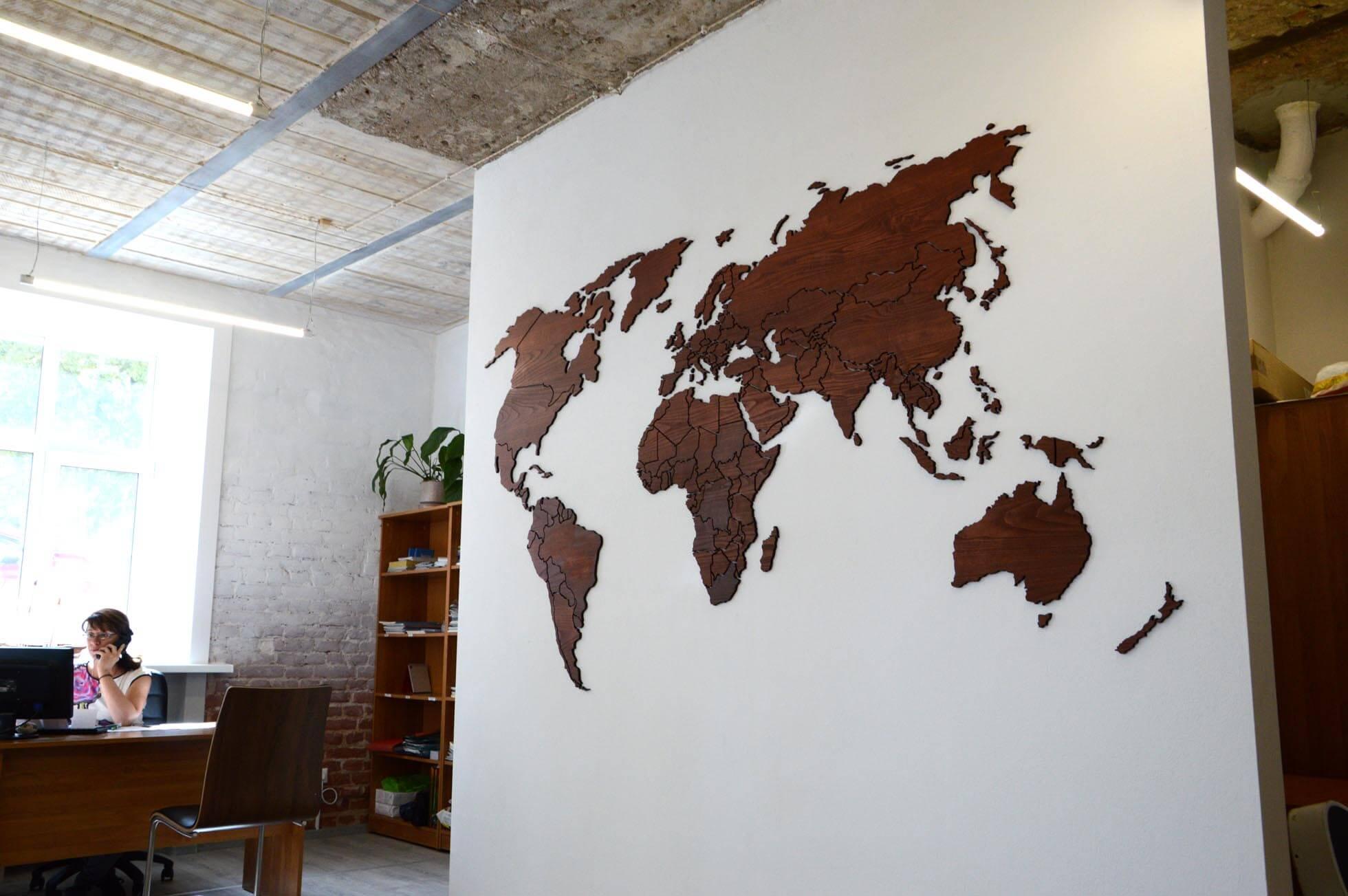 Карта для турагентства