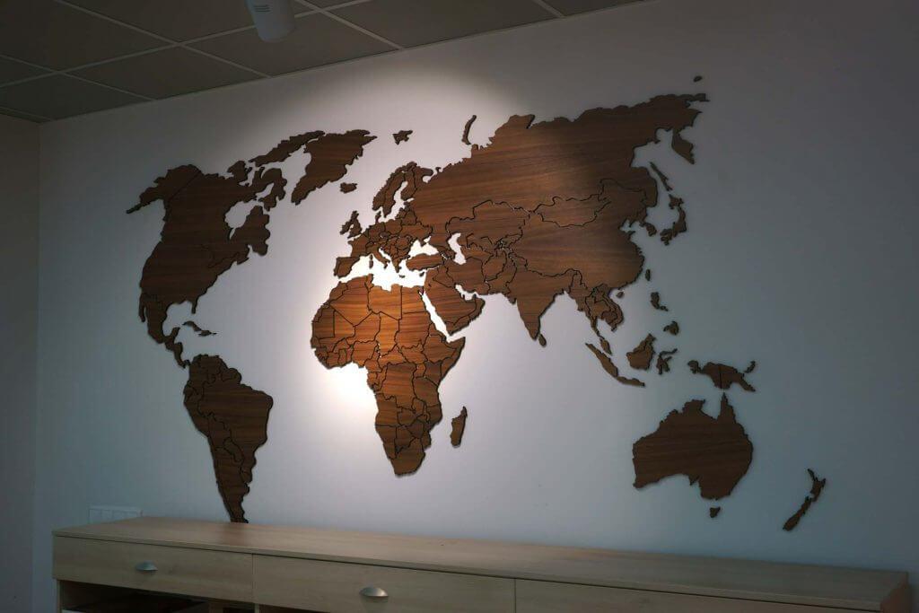 Карта для паркетной фабрики