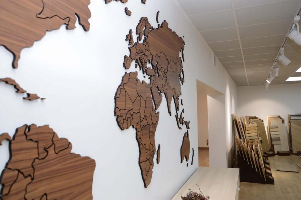 Выставочный зал - карта