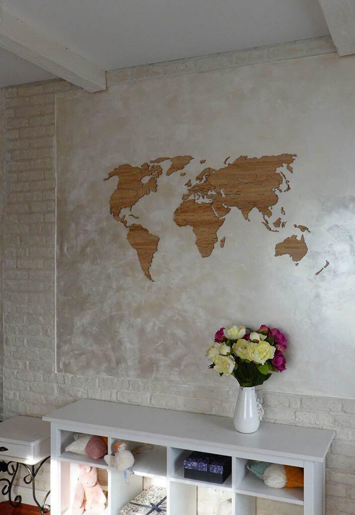 карта с цветами