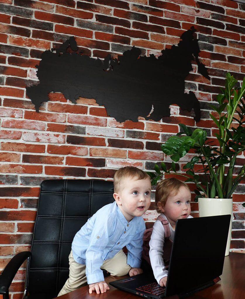 карта в детскую комнату